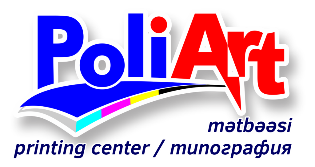 Poliart print house LOGO Типография в Баку